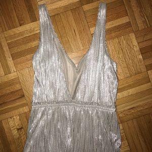 BCBGeneration silver dress